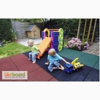 Резиновые покрытия для детских, спортивных площадок. Травмобезопасная плитка Бровары
