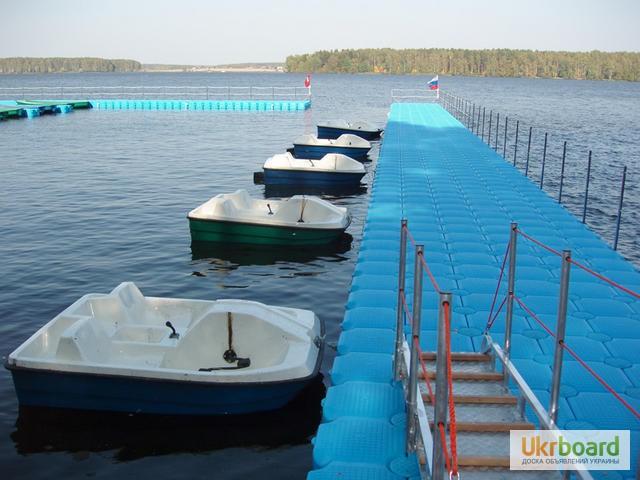 модульный понтон для лодок