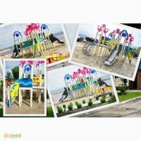 Детские игровые площадки, гимнастические комплексы, качели курусели