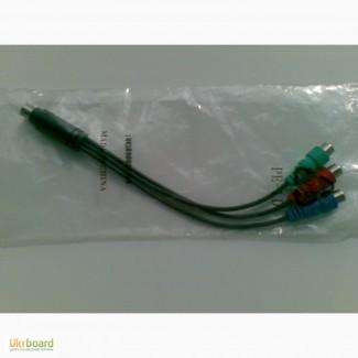 Кабель-переходник 7pin mini-DIN(M) to 3RCA(F)