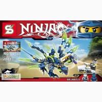 Конструктор Ninjago, дракон, фигурки, транспорт, 288 дет., в к SY548