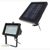 Прожектор на солнечной батарее 54 LED с датчиком освещенности, светильник