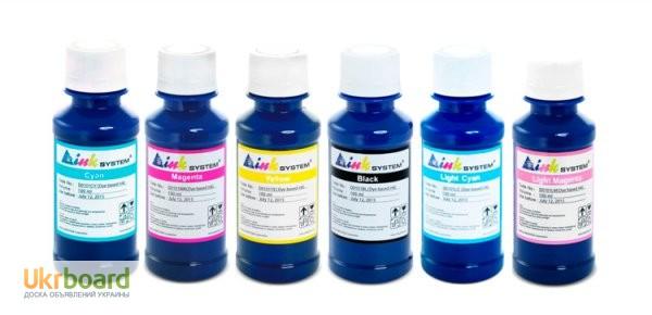 Фото 6. Широкий ассортимент чернил для всех моделей принтеров и МФУ