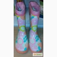 Продам детские резиновые сапоги для девочки фирмы CoolClub