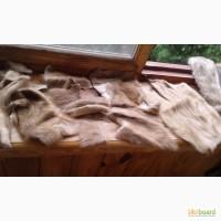 Шкурки (воротники) норковые и обрезки