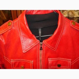 Куртка итальянской фирмы Rossodisera, натуральная кожа