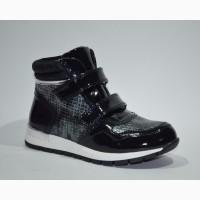 Демисезонные ботинки для девочек TOM.М арт.1448-A темно-синий с 32-37 р