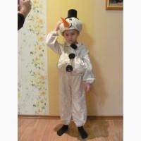 Продам карнавальный костюм снеговика