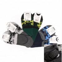 Носки следки мужские камуфляжные с силиконовым фиксатором на пятке