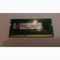 ОЗУ Kingston 1 GB SO-DIMM DDR3 1333 MHz KVR1333D3S9/1G