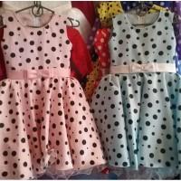 Детские платья Горошинка, возраст 5-6 лет