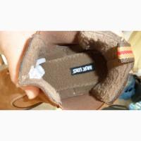 Продам новые зимние мужские сапоги на легком меху, коровья кожа из США