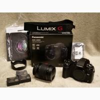 Panasonic Lumix DMC-G85 Цифровая фотокамера с микротрещинами с объективом 12-60 мм