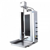 Аппарат для шаурмы Remta SD17 на 50 кг со стеклокерамикой и приводом на 50 кг