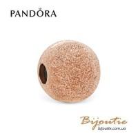 PANDORA шарм-клипса ROSE ― МАТОВОЕ СИЯНИЕ 787895 Оригинал Пандора