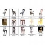Деревянные стулья и столы, мебель из дерева для кафе, бара, паба