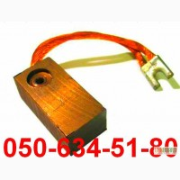 Щетка щетки для электродвигателей со склада меднографитовые щетки