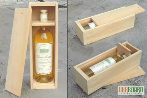 Ящик для бутылок своими руками