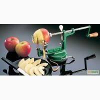 Приспособление для чистки, нарезки яблок