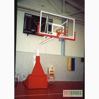 Стойка баскетбольная мобильная профессиональная и оборудование для баскетбола в ассортимен