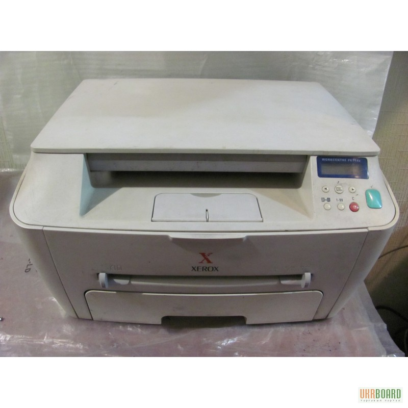 Xerox workcentre pe114e сканер 3