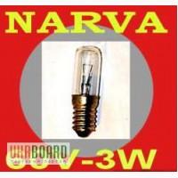 Лампа Narva 60В-3Вт для железнодорожного транспорта