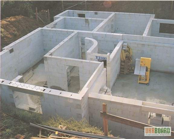 пошаговое строительство коттеджа из газобетона с цокольным этажом качества