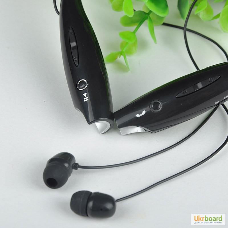Фото 5. Стерео Bluetooth 4.0 наушники + гарнитура копия LG Tone-Pro