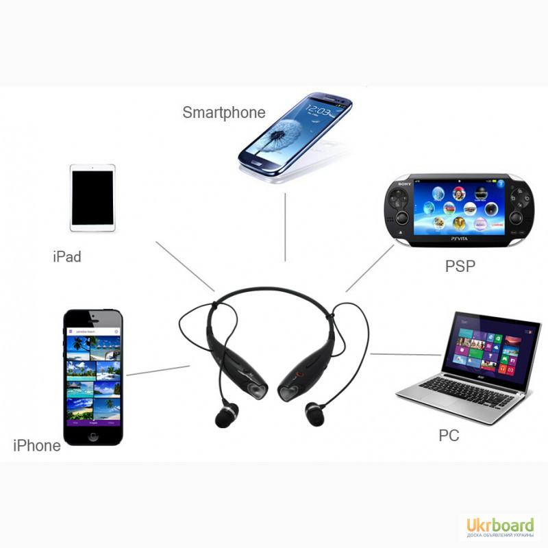 Фото 8. Стерео Bluetooth 4.0 наушники + гарнитура копия LG Tone-Pro