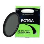 Cветофильтр нейтрально-серый с переменной плотностью Fotga Slim 46mm-82mm ND2-400