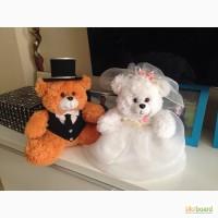Свадебные мишки+сердечко в подарок