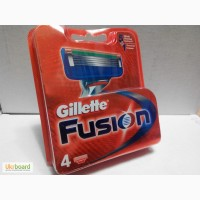 Лезвия Gillette Fusion лезвия 4 шт