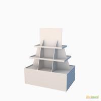 Производство POS материалов с гофрокартона