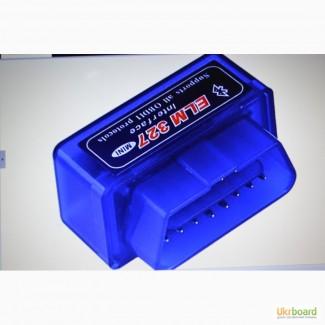 Автомобильный диагностический сканер ELM327 OBD2 Bluetooth V2.1