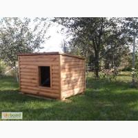 Продам недорого деревянную собачью будку
