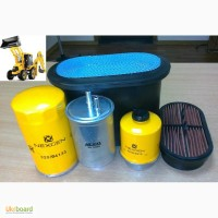 Комплект Фильтров JCB.- 5 шт.(топливные-2 шт, воздушные -2 шт, масляный)