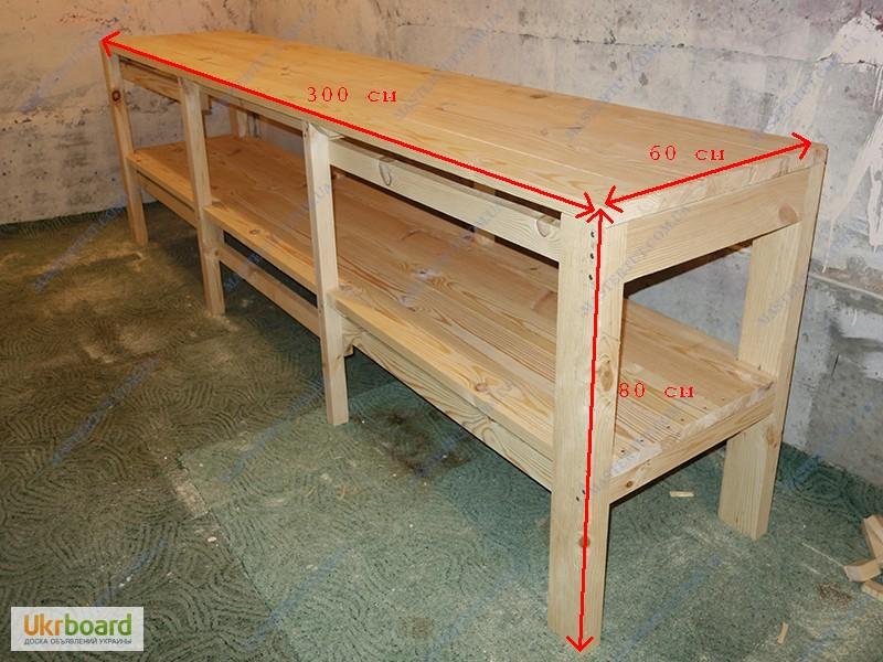 Верстаки из дерева для гаража своими руками