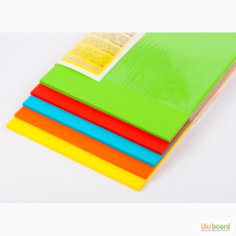 Цветная бумага 50 листов