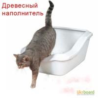Древесный наполнитель из сосны для туалета животных