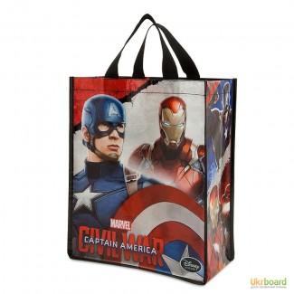 Многоразовая сумка Капитан Америка