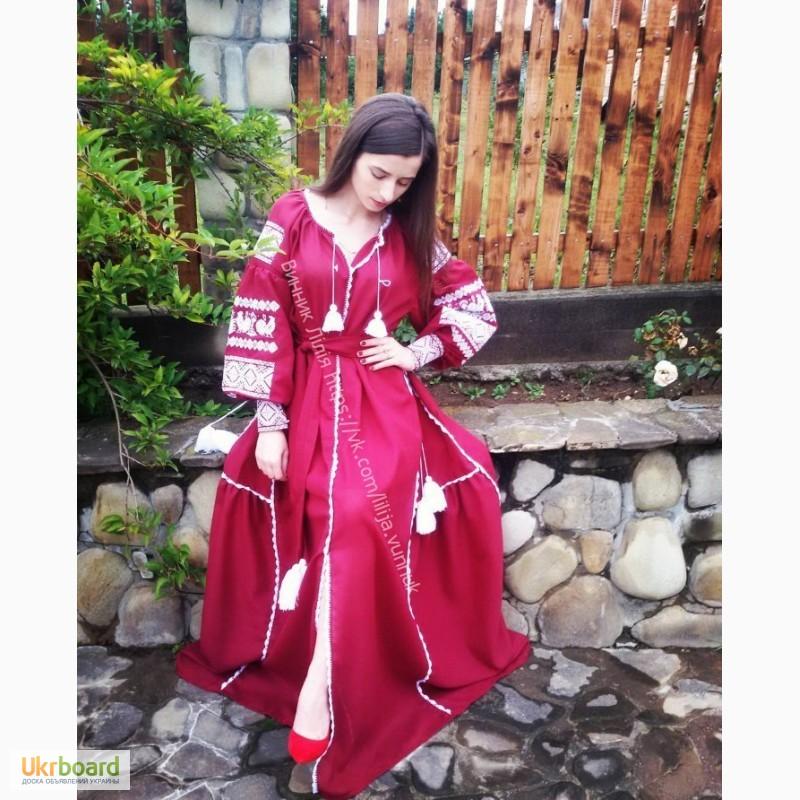 Продам вишите плаття у стилі Віта Кін 537d6080239dd
