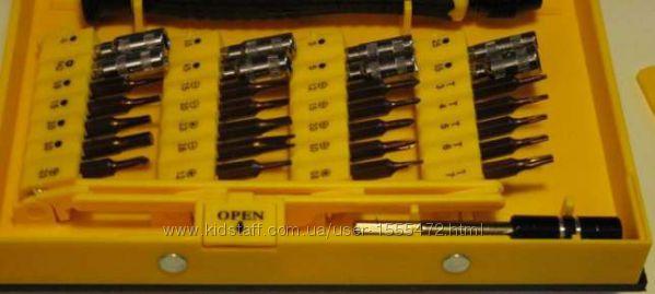 Фото 17. Набор отверток YX-6028B 38 в 1 Набор высокоточного инструмента для ремонта электронных
