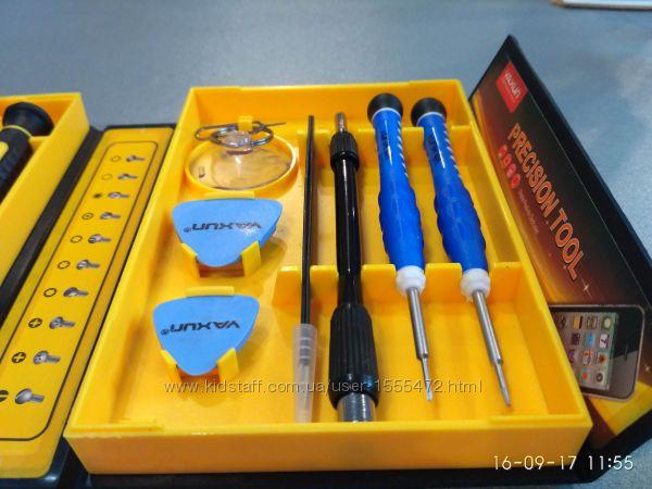 Фото 19. Набор отверток YX-6028B 38 в 1 Набор высокоточного инструмента для ремонта электронных