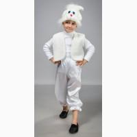 Детский карнавальный костюм Зайчика 2-6 лет