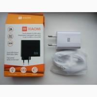 Зарядка Сзу USB Xiaomi с кабелем Type-C на 2A