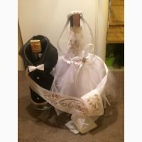 Продам украшения на свадебные бутылки