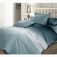 Серебряная луна, элитное постельное белье сатин (100% хлопок)