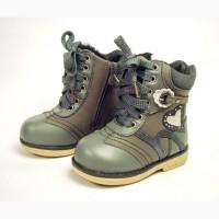 Зимние ботинки для девочки тм Шалунишка Ортопед р. 22 стелька 14см. Новые