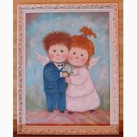 Картина маслом на свадьбу