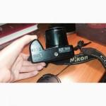 Крутой фотоаппарат Nikon Coolpix L310 ВОЗМОЖЕН ТОРГ. В комплекте сумочка и зарядка SONY